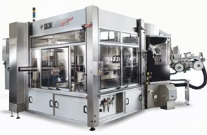 Industrial Labeling Machine Sacmi Modular Combined Labellers Modules