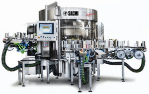 Industrial Labeling Machine Sacmi Pressure Sensitive Labellers
