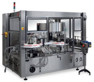Industrial Labeling Machine Sacmi Roll Fed Labellers